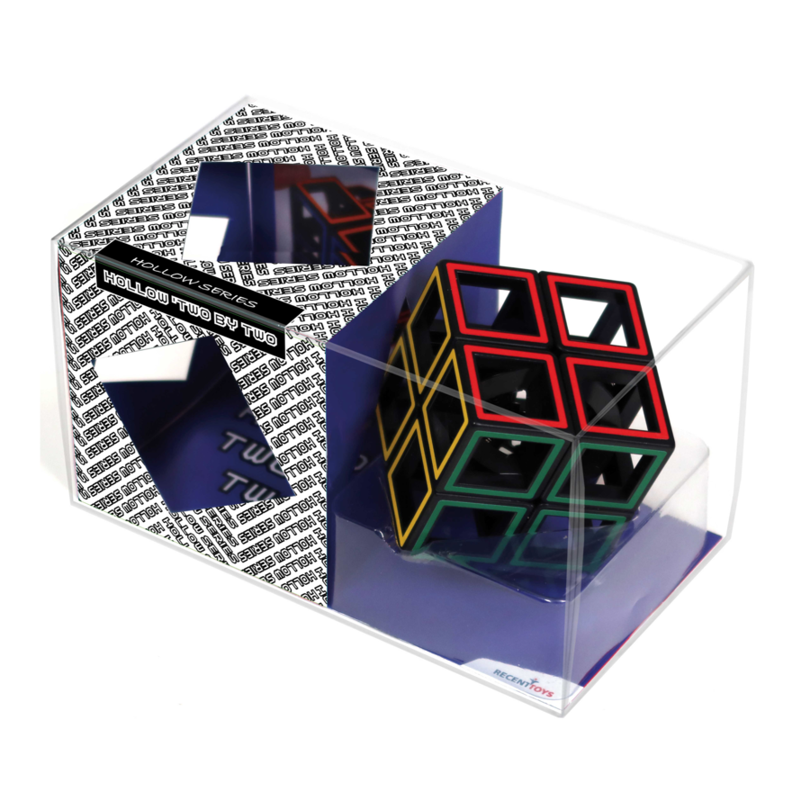 Hollow Two By Two  - brainteaser cube-3