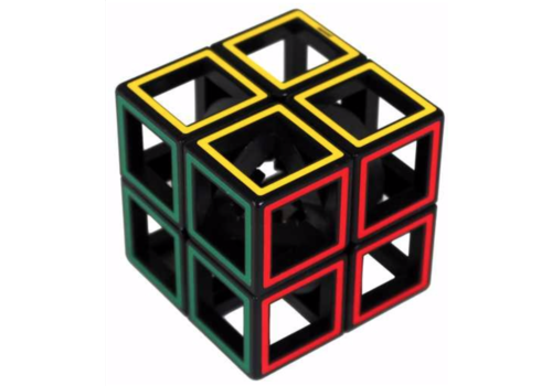 Recent Toys Hollow Two By Two  - brainteaser cube