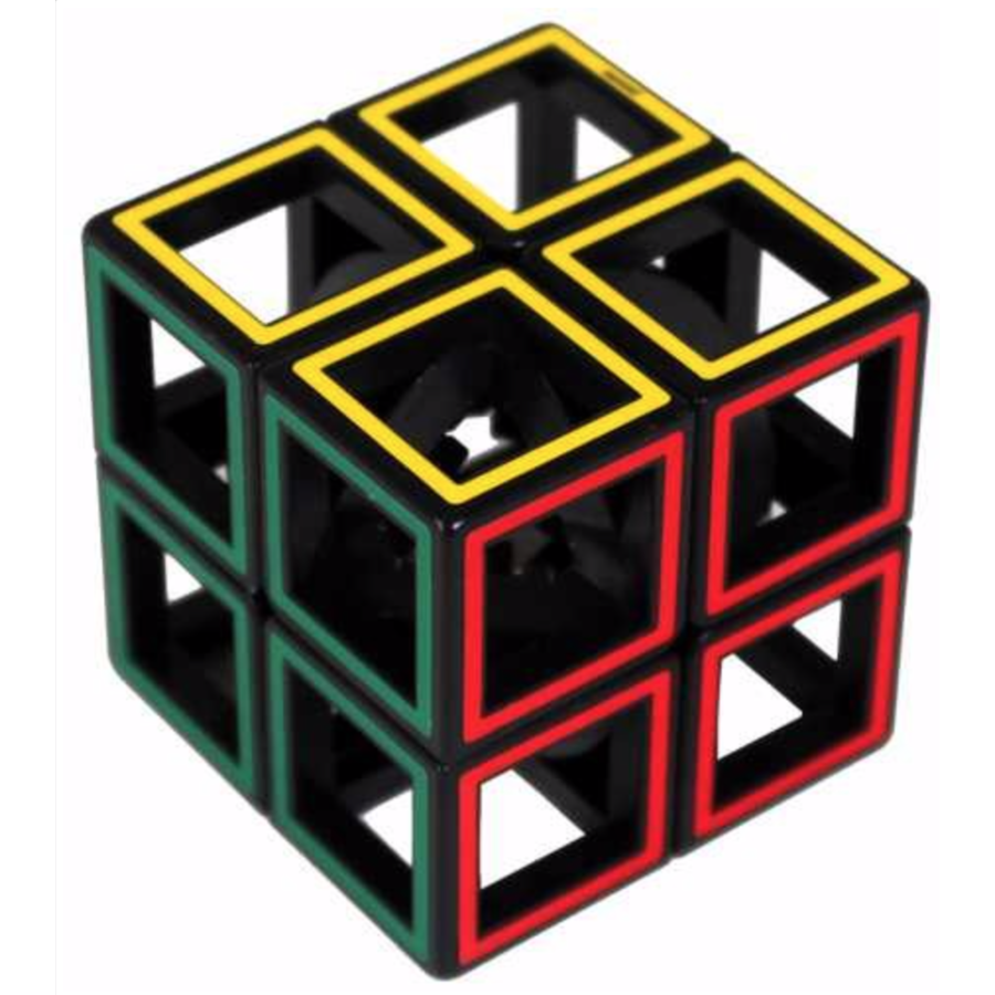 Hollow Two By Two  - brainteaser cube-1