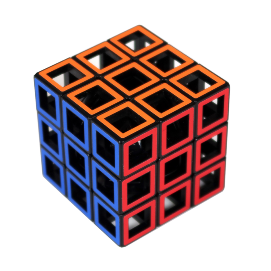 Hollow Three by Three  - brainteaser cube-1