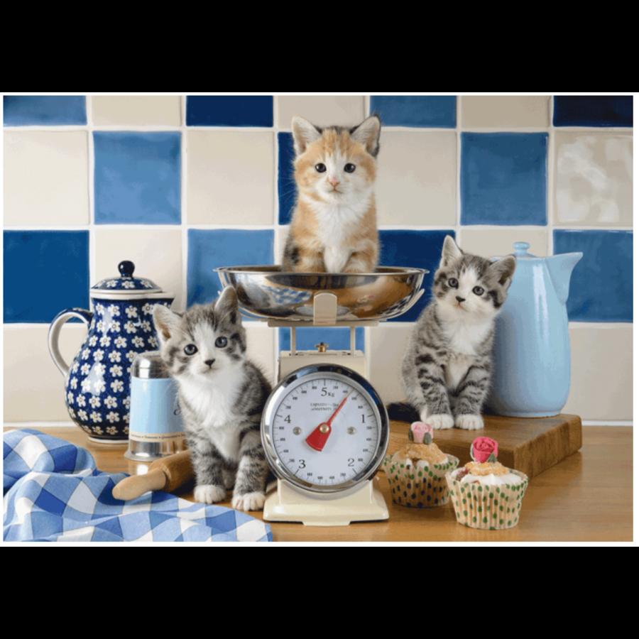 Katten in de keuken - 500 stukjes-1