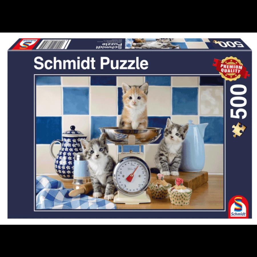 Katten in de keuken - 500 stukjes-2