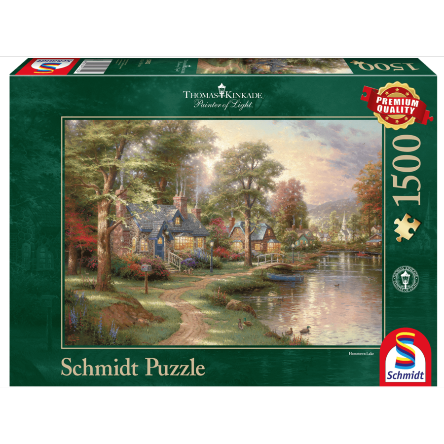 Hometown Lake - 1500 pieces-1