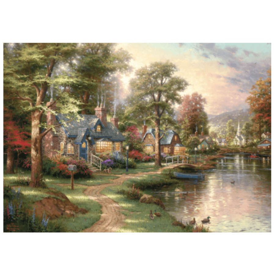 Hometown Lake - 1500 stukjes-2