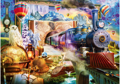 Bluebird Puzzle Voyage magique  - 1000 pièces