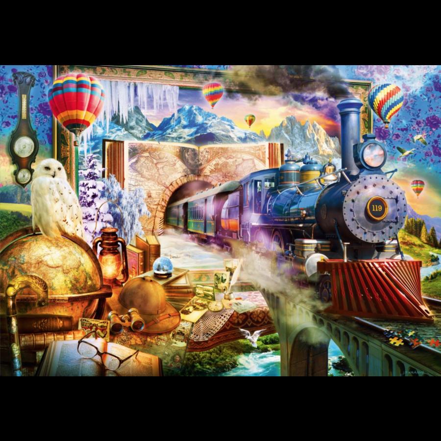 Magische reis  - puzzel van 1000 stukjes-1