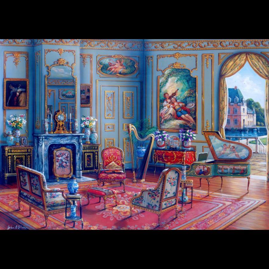 Le salon de musique - puzzle de 1000 pièces-1