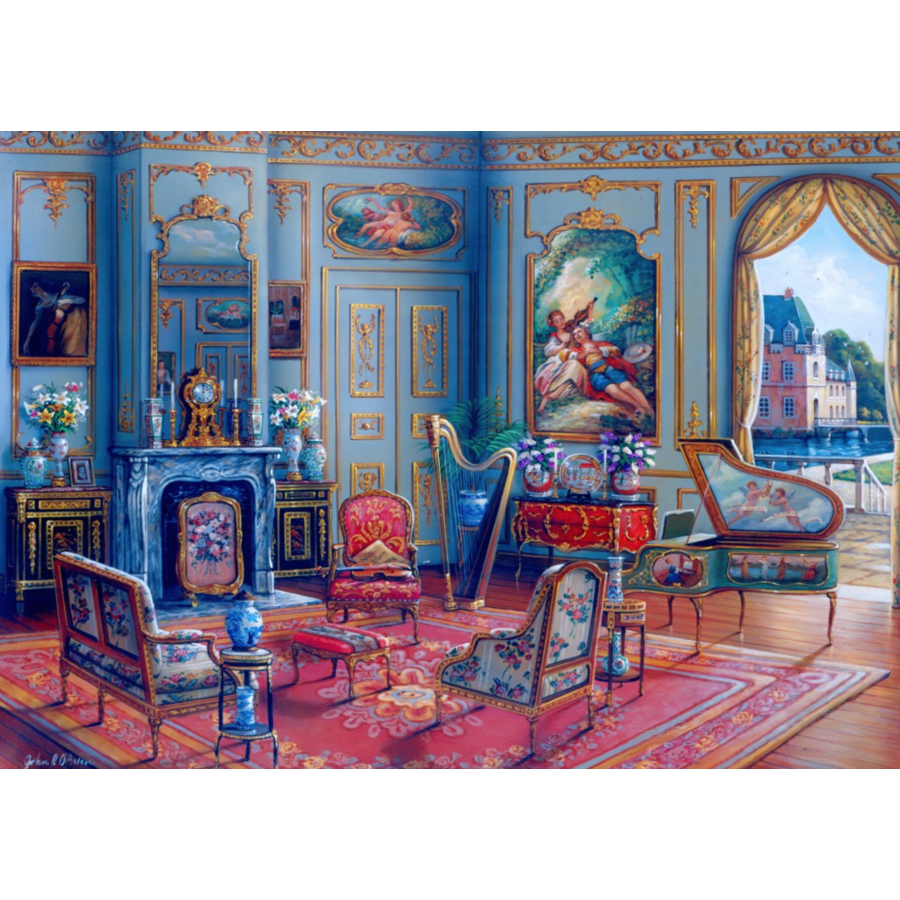 The Music Room - puzzle of 1000 pieces-1