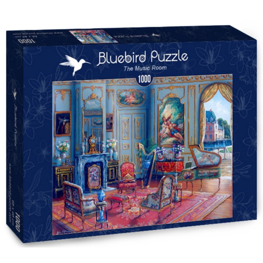 De muziekkamer  - puzzel van 1000 stukjes-2