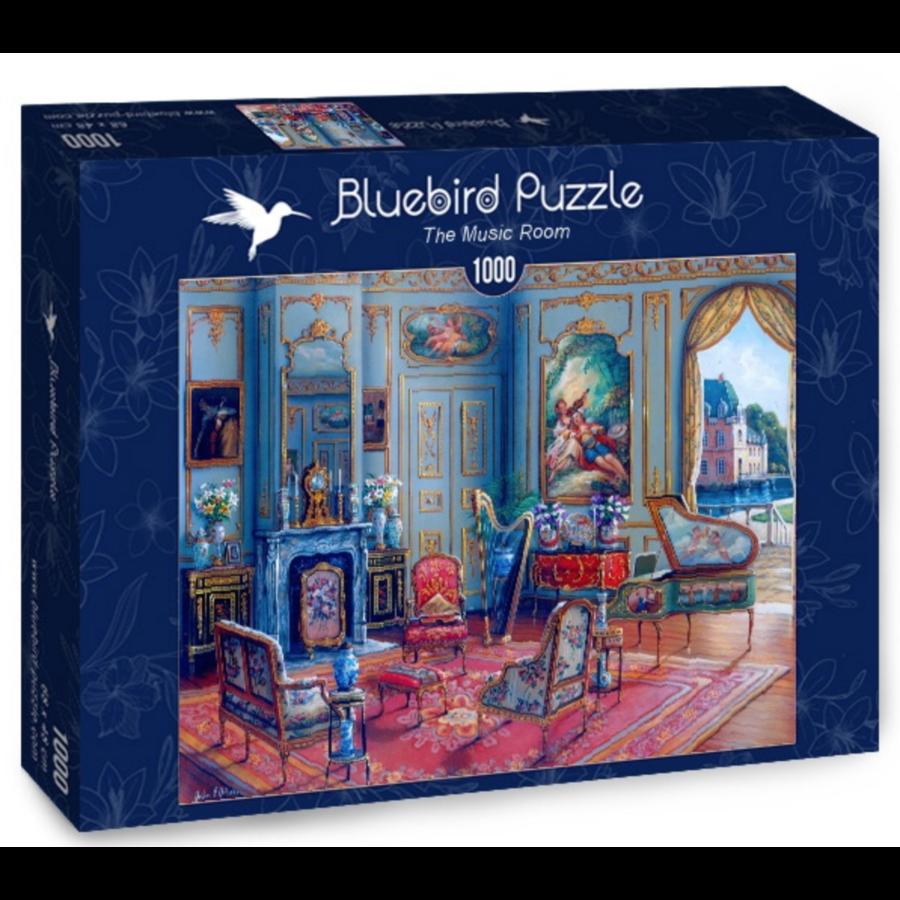 Le salon de musique - puzzle de 1000 pièces-2