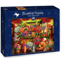 thumb-Le marché aux fleurs  - puzzle de 1000 pièces-2