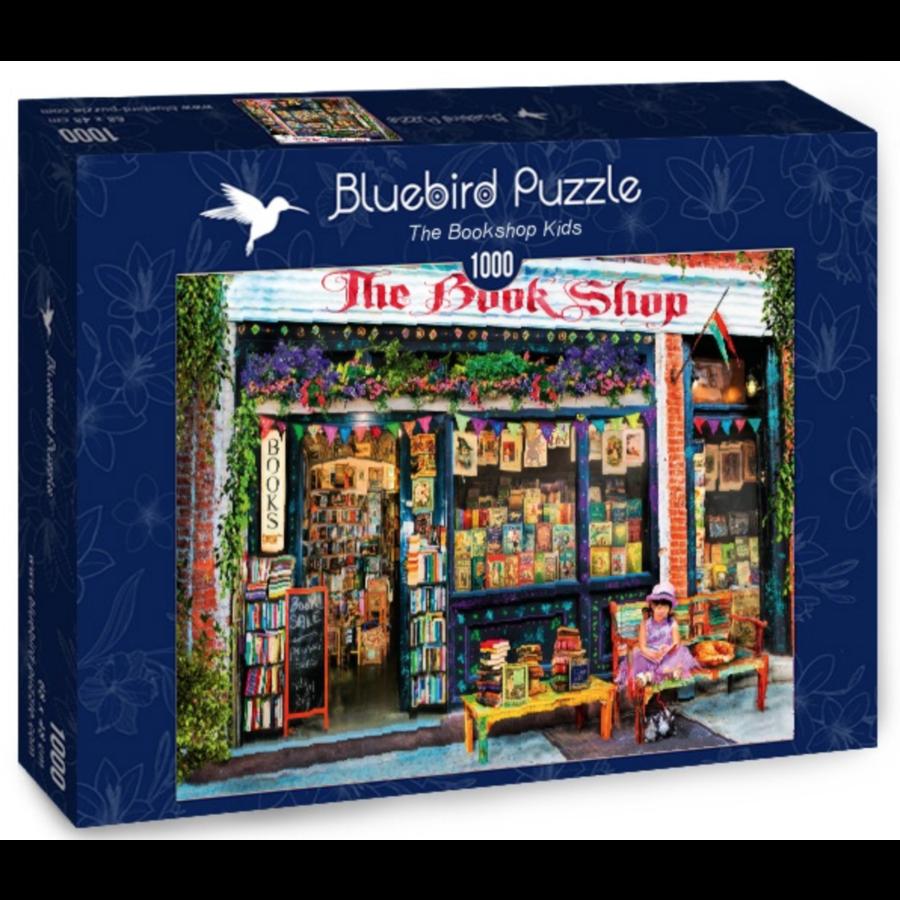 De boekenwinkel  - puzzel van 1000 stukjes-2