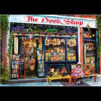 thumb-De boekenwinkel  - puzzel van 1000 stukjes-1