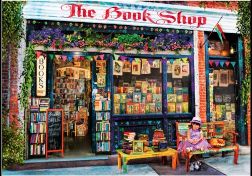 De boekenwinkel - 1000 stukjes