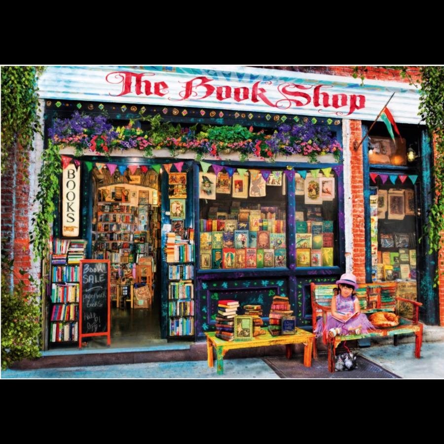 De boekenwinkel  - puzzel van 1000 stukjes-1