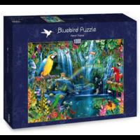 thumb-Papegaaien in de tropen - puzzel van 1000 stukjes-2