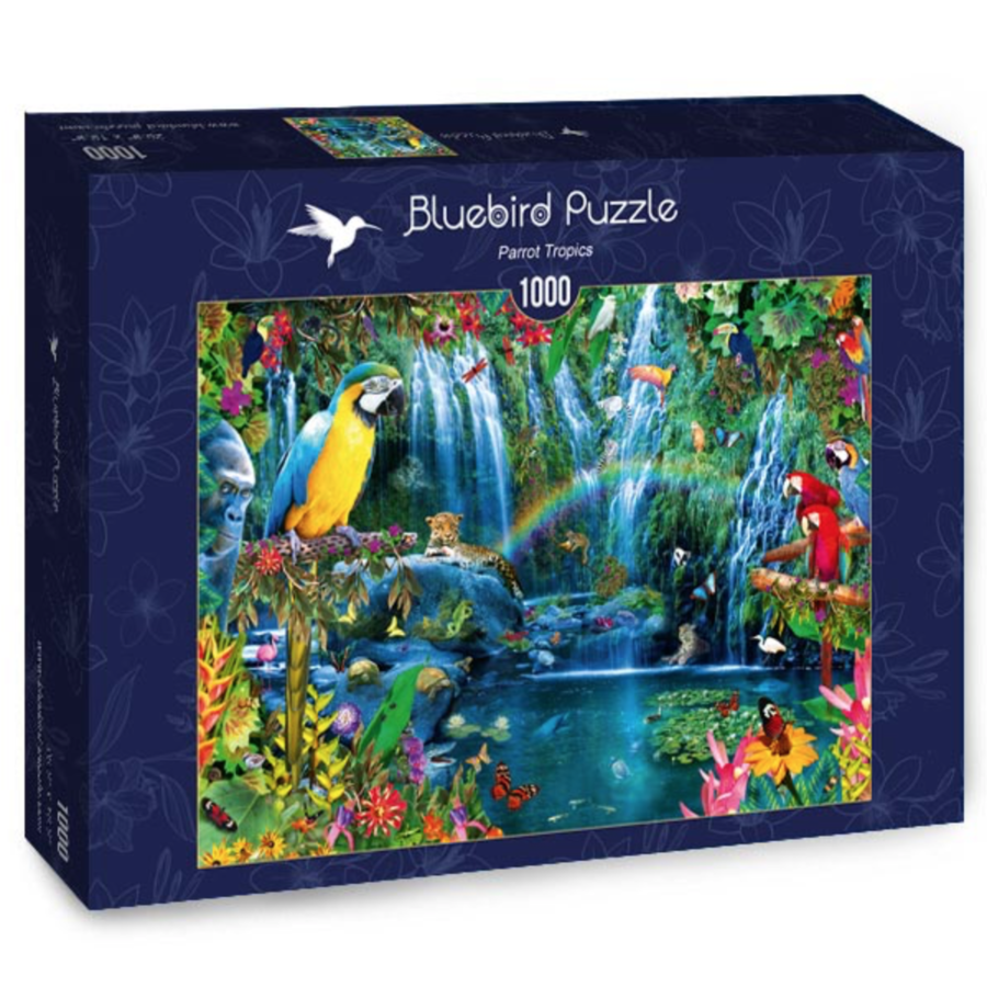 Tropiques des perroquets - puzzle de 1000 pièces-2
