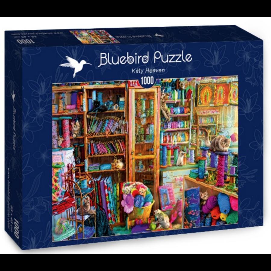 Kattenparadijs - puzzel van 1000 stukjes-2
