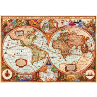 thumb-Vintage map - puzzle of 1000 pieces-1