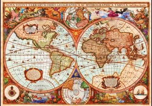 Bluebird Puzzle Vintage map - 1000 pieces