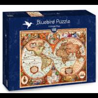 thumb-Ancienne carte du monde - puzzle de 1000 pièces-2