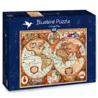 thumb-Vintage map - puzzle of 1000 pieces-2