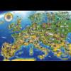 Bluebird Puzzle Carte européenne - puzzle de 1000 pièces