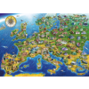Bluebird Puzzle Europese landkaart - puzzel van 1000 stukjes