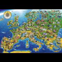 thumb-Carte européenne - puzzle de 1000 pièces-1