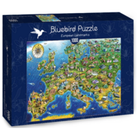 thumb-Carte européenne - puzzle de 1000 pièces-2