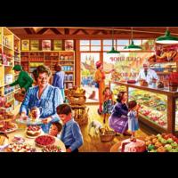 thumb-Nostalgic Cake Shop - puzzle of 1000 pieces-1