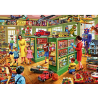 thumb-Toy Shop Interiors - puzzle of 1000 pieces-1