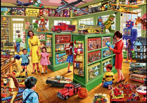 Bluebird Puzzle Dans le magasin de jouets - 1000 pièces