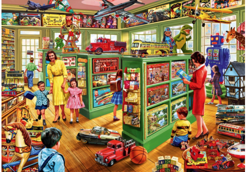 Bluebird Puzzle Toy Shop Interiors - 1000 pieces