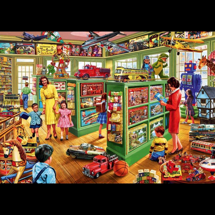 Dans le magasin de jouets - puzzle de 1000 pièces-1