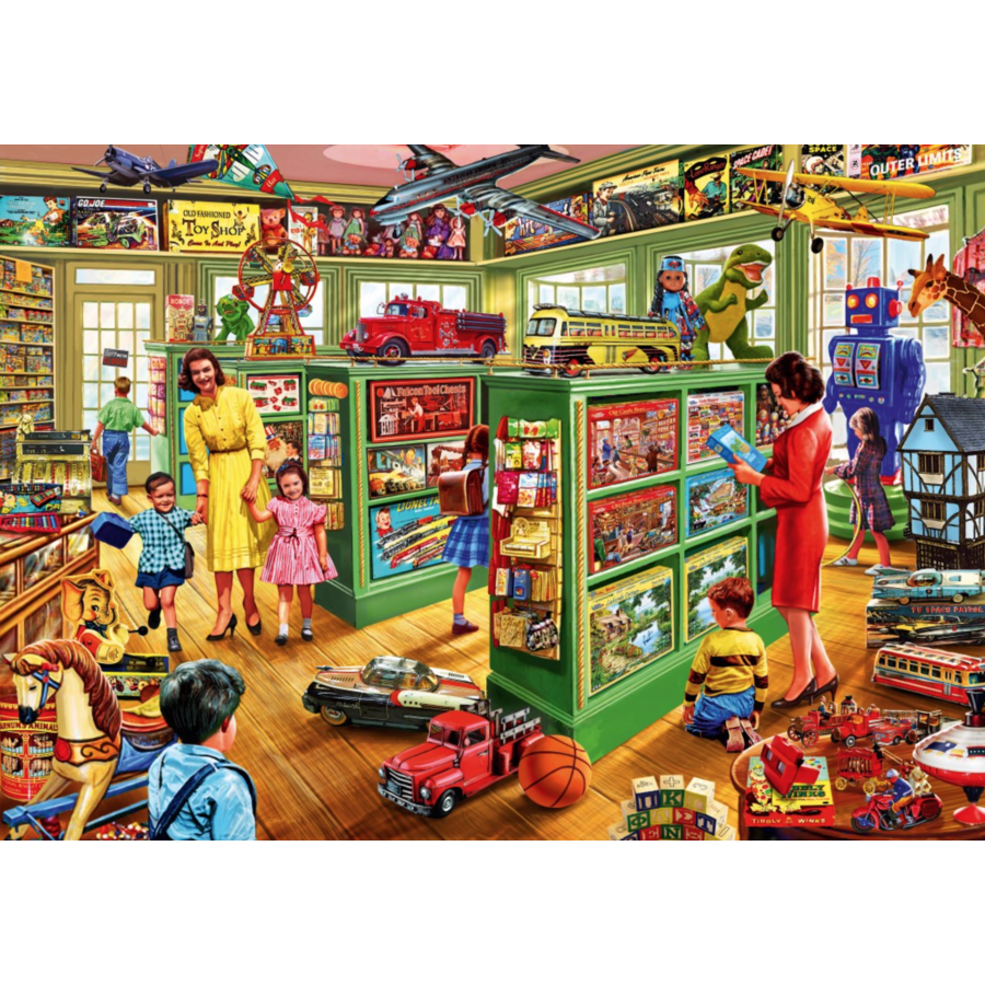 Toy Shop Interiors - puzzle of 1000 pieces-1