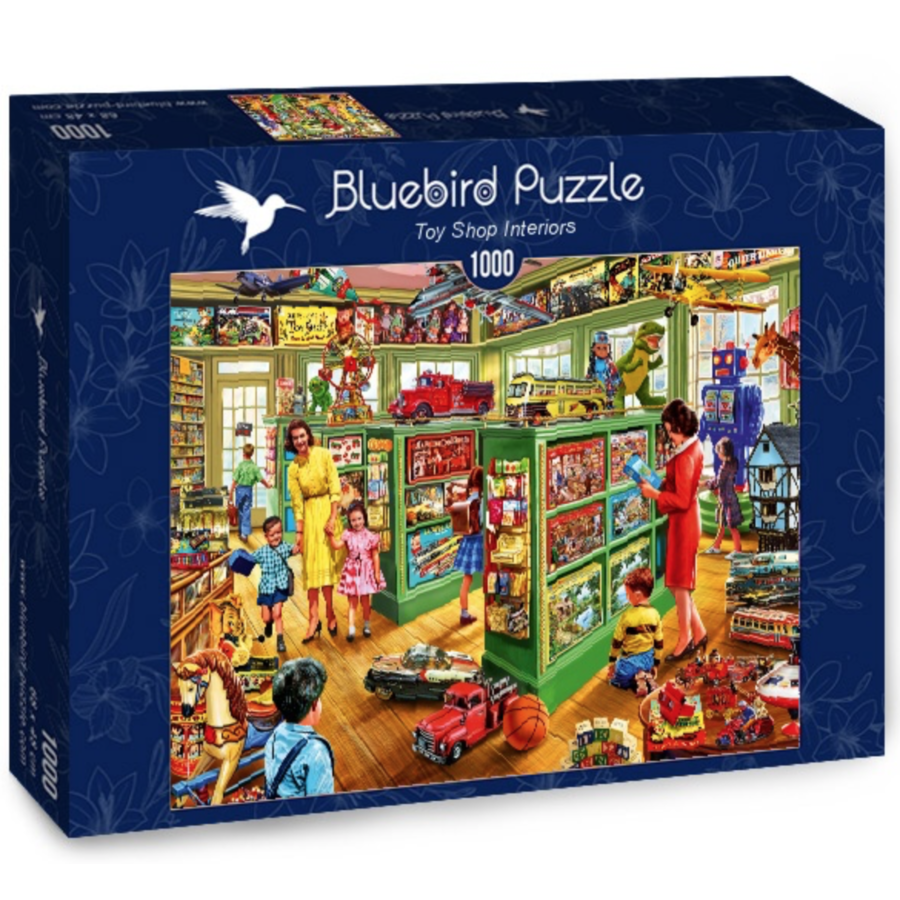 Toy Shop Interiors - puzzle of 1000 pieces-2