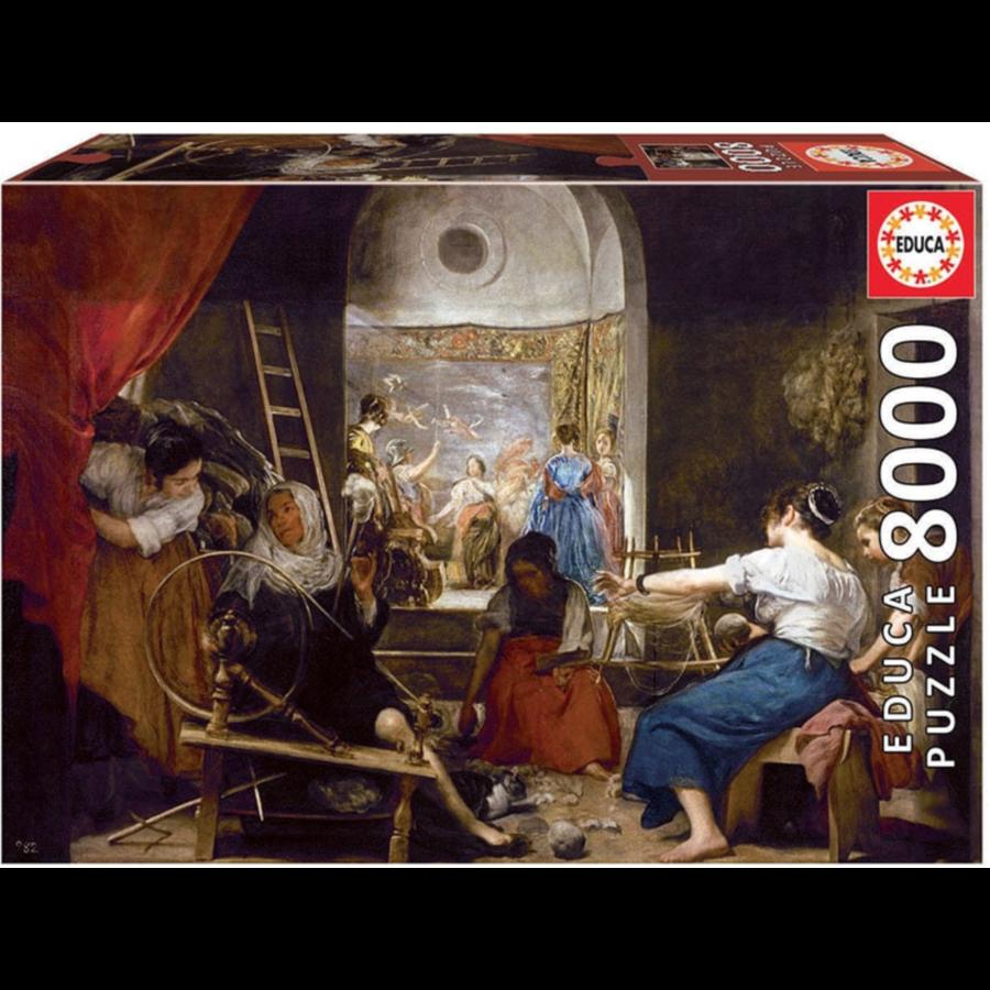 Les filateurs - Velasquez - 8000 pièces-1