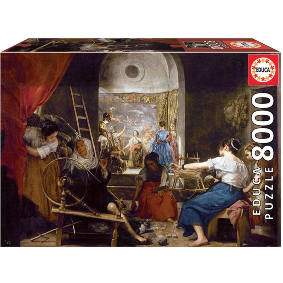The Spinners - Velasquez - 8000 pieces-1