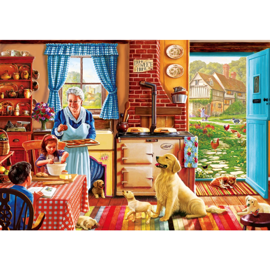 Home Sweet Home - puzzle of 1000 pieces-1