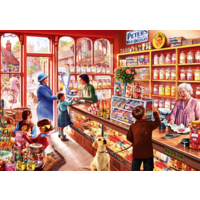 thumb-In the sweetshop - puzzle of 1000 pieces-1