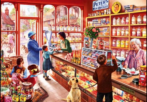 Bluebird Puzzle Dans le magasin de bonbons - 1000 pièces