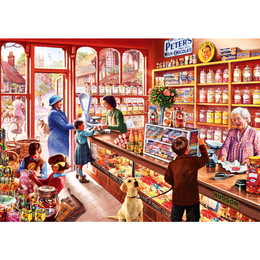 In the sweetshop - puzzle of 1000 pieces-1