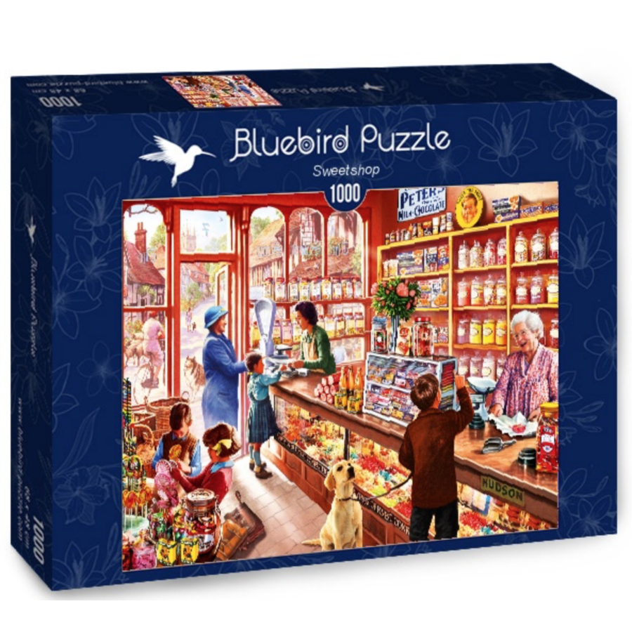 In the sweetshop - puzzle of 1000 pieces-2