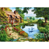 Bluebird Puzzle Cottage by the lake - puzzle of 1000 pieces