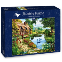 thumb-Cottage by the lake - puzzle of 1000 pieces-2