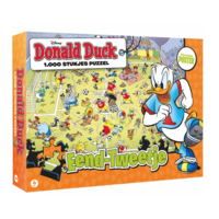 Donald Duck 4 - Football - jigsaw puzzle of 1000 pieces