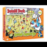 Donald Duck 4 - Jouer au Foot - puzzle de 1000 pièces