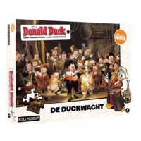 The Duckwatch - Donald Duck - jigsaw puzzle of 1000 pieces