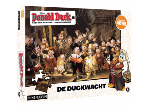 The Duckwatch - Donald Duck - 1000 pieces